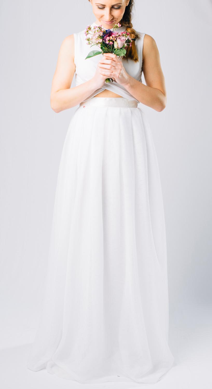 svatební a družičkovské sukně Akari 5e397c5507