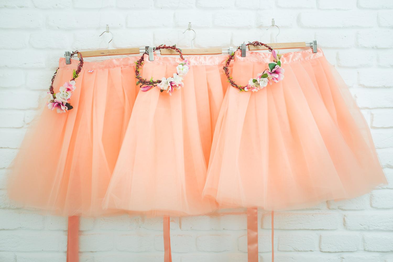 svatební a družičkovské sukně Akari f5a13add42